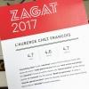 Zagat 2017 Rating