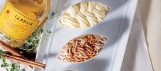 Trio of Mousses: Izarra, Cinnamon and Espresso