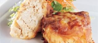 Crabmeat in a Potato Crust
