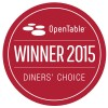 Open Table Diners' Choice Best Overall