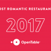 OpenTable100 Most Romantic Restaurants in America 2017