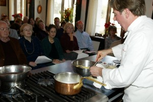 Chef Jacques' Cooking Demonstrations