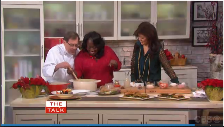 Chef Jacques on CBS The Talk