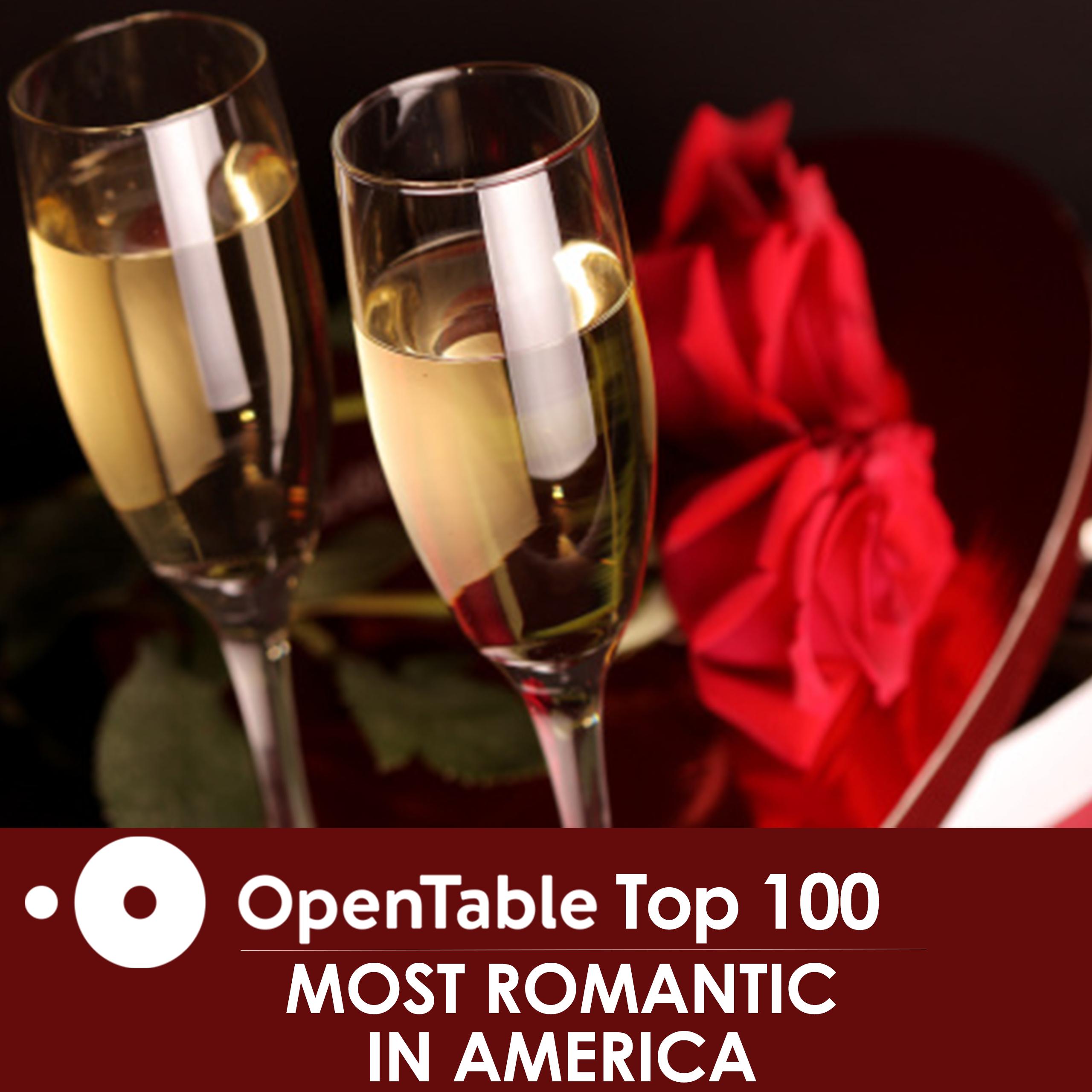 OpenTable Most Romantic