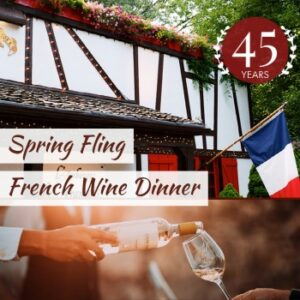 Spring Fling French Wine Dinner