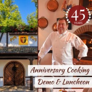 Anniversary Cooking Demo and Luncheon