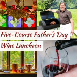 father's day wine luncheon
