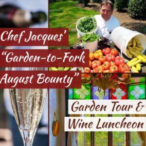 Garden to Fork Wine Luncheon