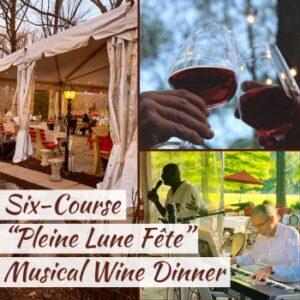 september full moon six course wine dinner